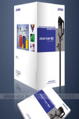 样本设计--上海琼森流体设备有限公司样本设计
