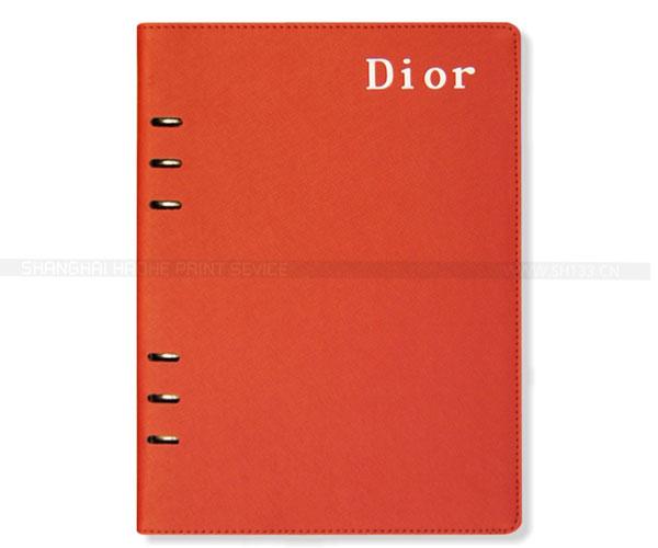 笔记本定制-6孔精装活页笔记本