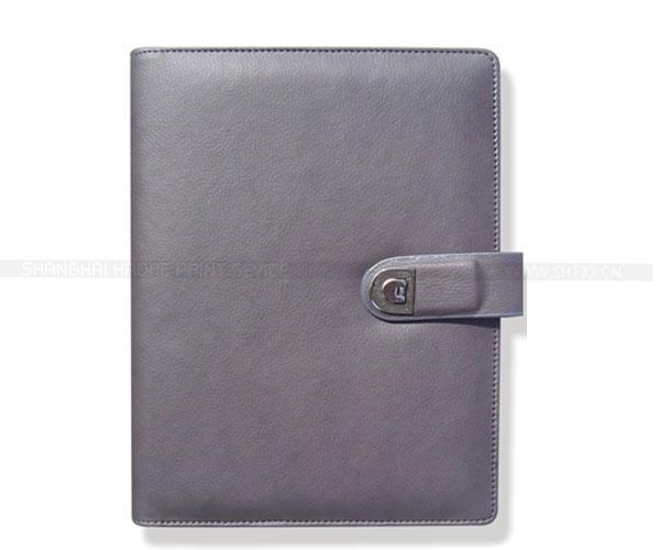 笔记本定制-带扣活页笔记本印刷