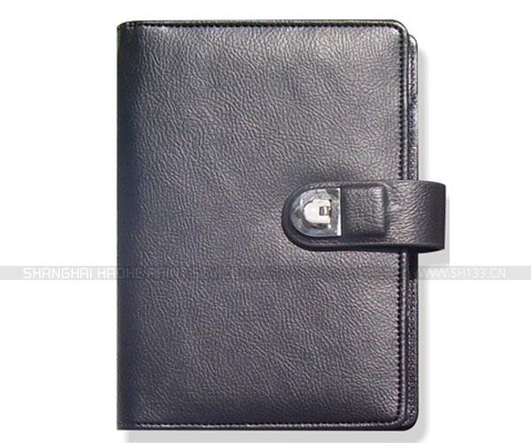 笔记本定制-黑皮活页笔记本印刷