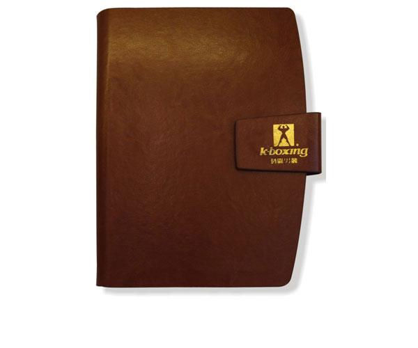 笔记本定制-高档活页缝线本