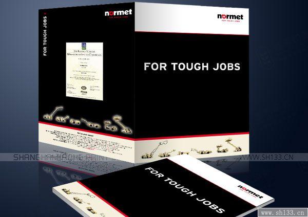 样本设计印刷--Normet建设施工