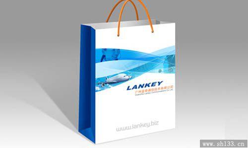 手提袋/纸拎袋--电子通信行业手提袋印刷制作