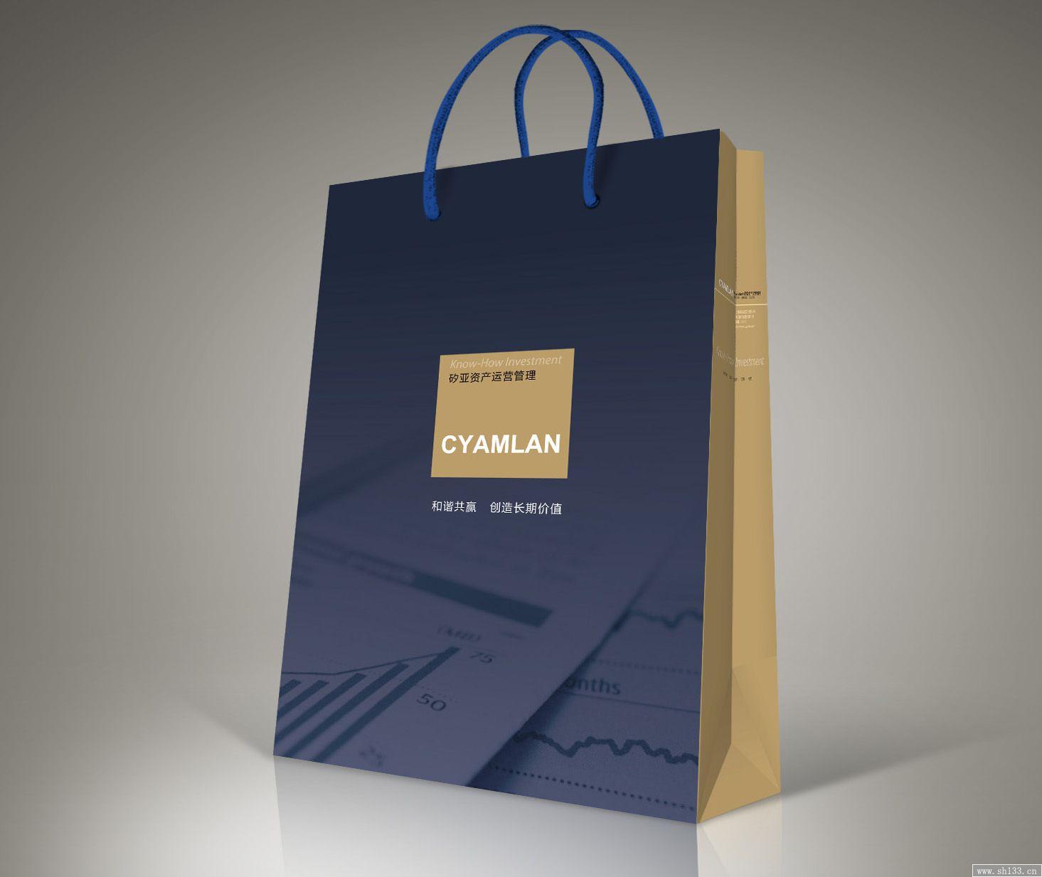 手提袋/纸拎袋--企业品牌手提袋印刷