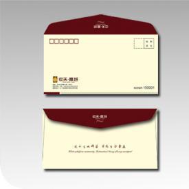 楼盘企业信封设计印刷