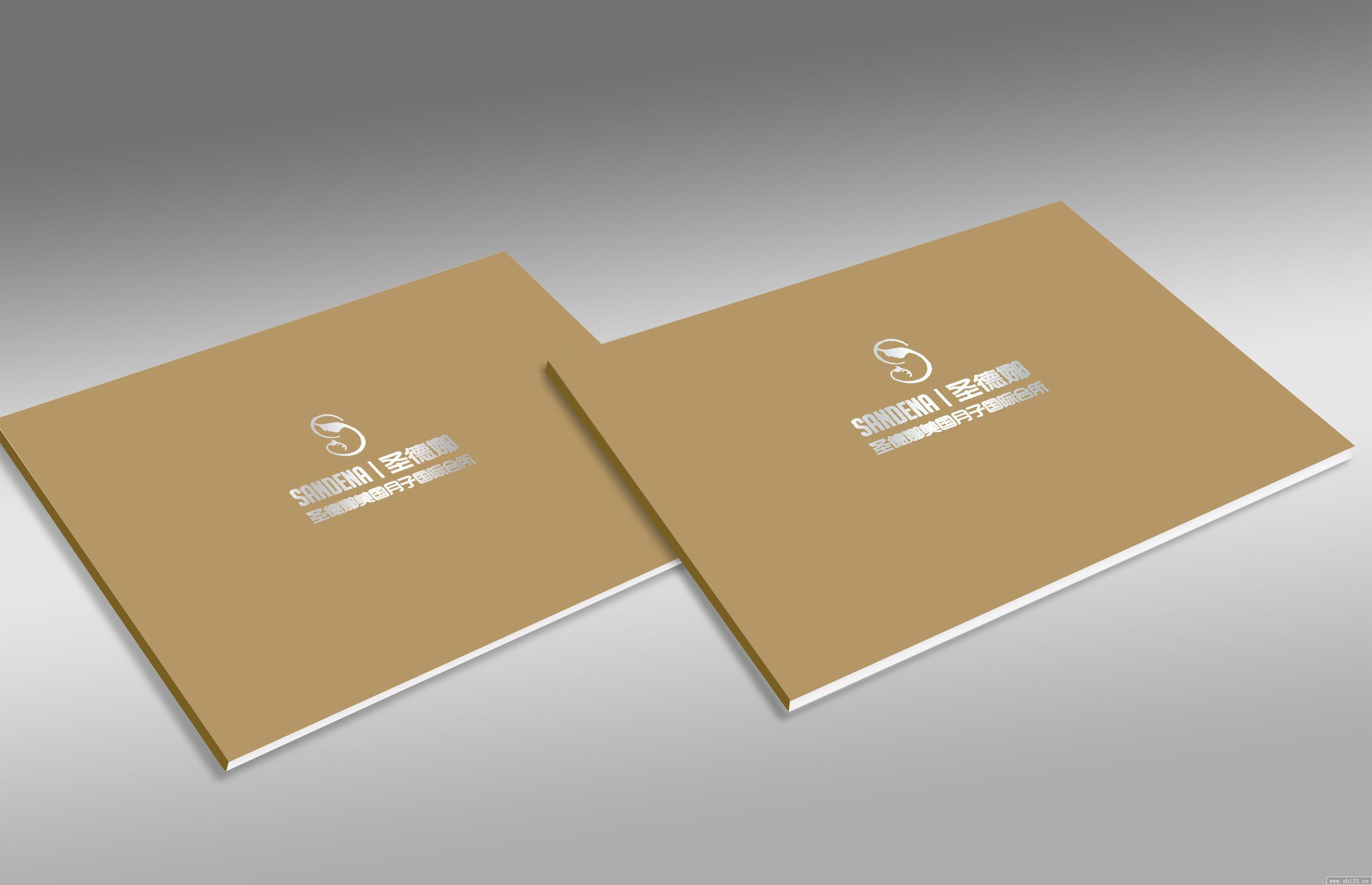 圣德娜宣传画册设计乐虎国际 首页制作