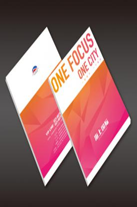 旭美商业房地产宣传册设计印刷